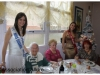 Fête de Noël au foyer restaurant pour les personnes âgées