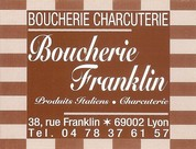 Boucherie Franklin