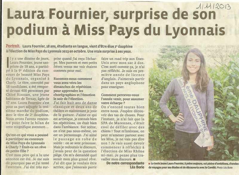Laura surprise de son podium à Miss PL