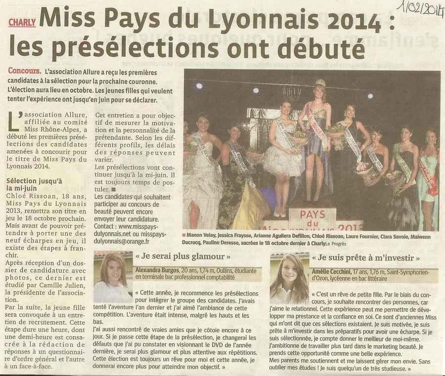 Miss PL 2014 les présélections ont débuté