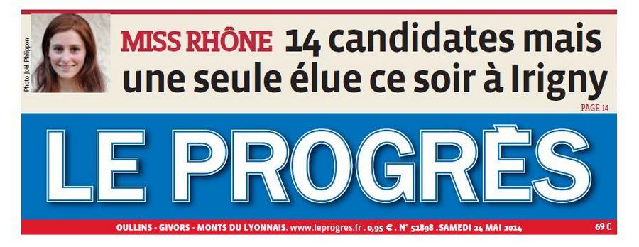 14 candidates mais une seule élue ce soir à Irigny