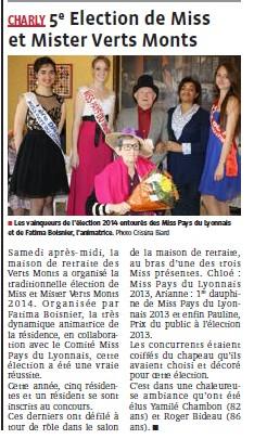 Election Miss et Mister Verts Monts