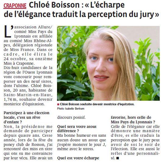 Chloé l'écharpe de l'élégance traduit la perception du jury