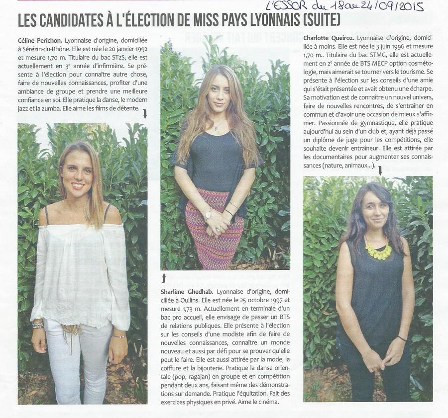 Les Candidates à l'élection de MPL (suite)