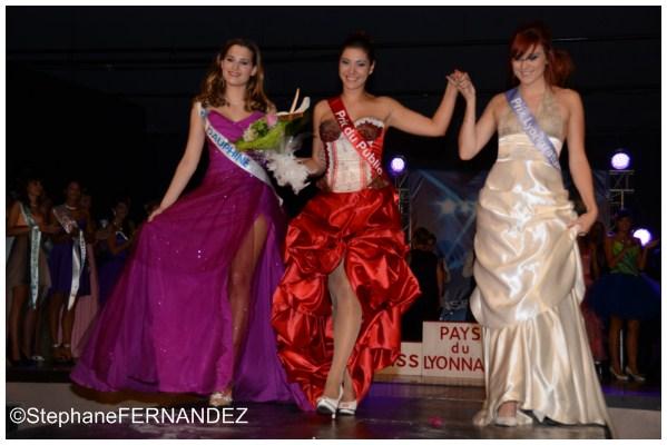 Résultats du Prix du Public de Miss Pays du Lyonnais 2012