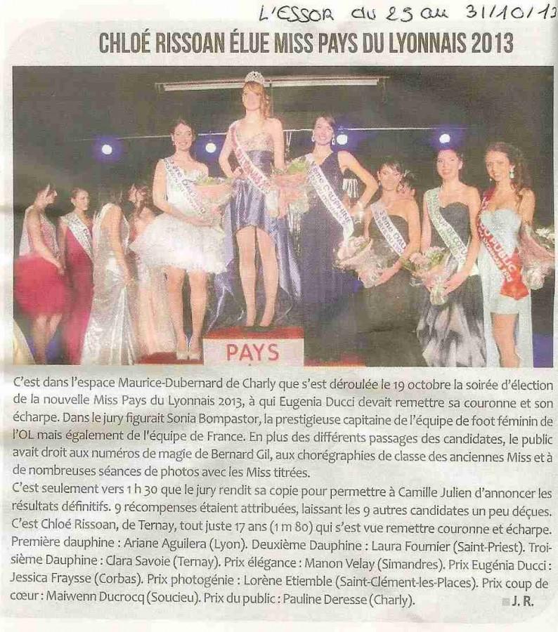 100 Chloe Rissoan elue Miss PL 2013