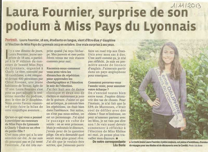 Laura surprise de son podium à Miss PL