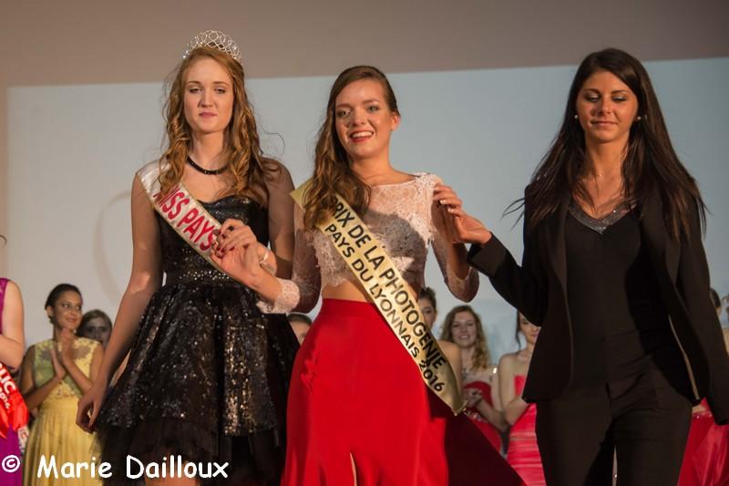 Résultats du Prix de la Photogénie de Miss Pays du Lyonnais 2016